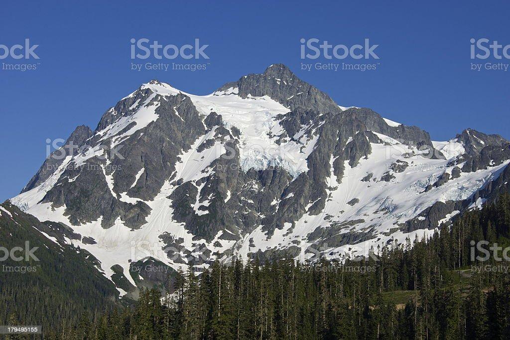 Mt. Shuksan Crystal Clear royalty-free stock photo