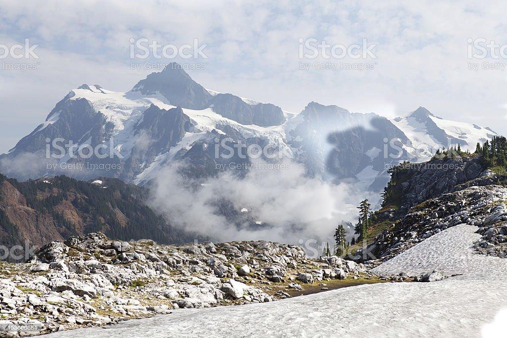 Mt Shuksan royalty-free stock photo