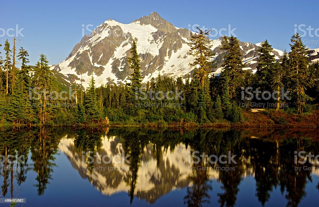 Mt. Shuksan stock photo