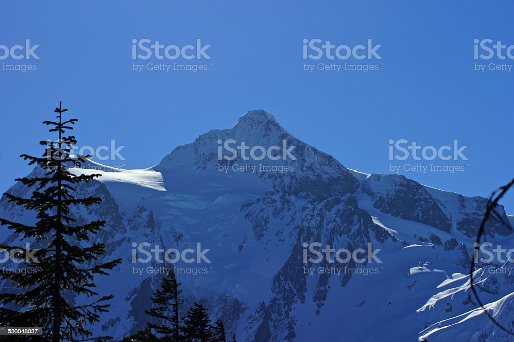 Mt. Shuksan Slick stock photo
