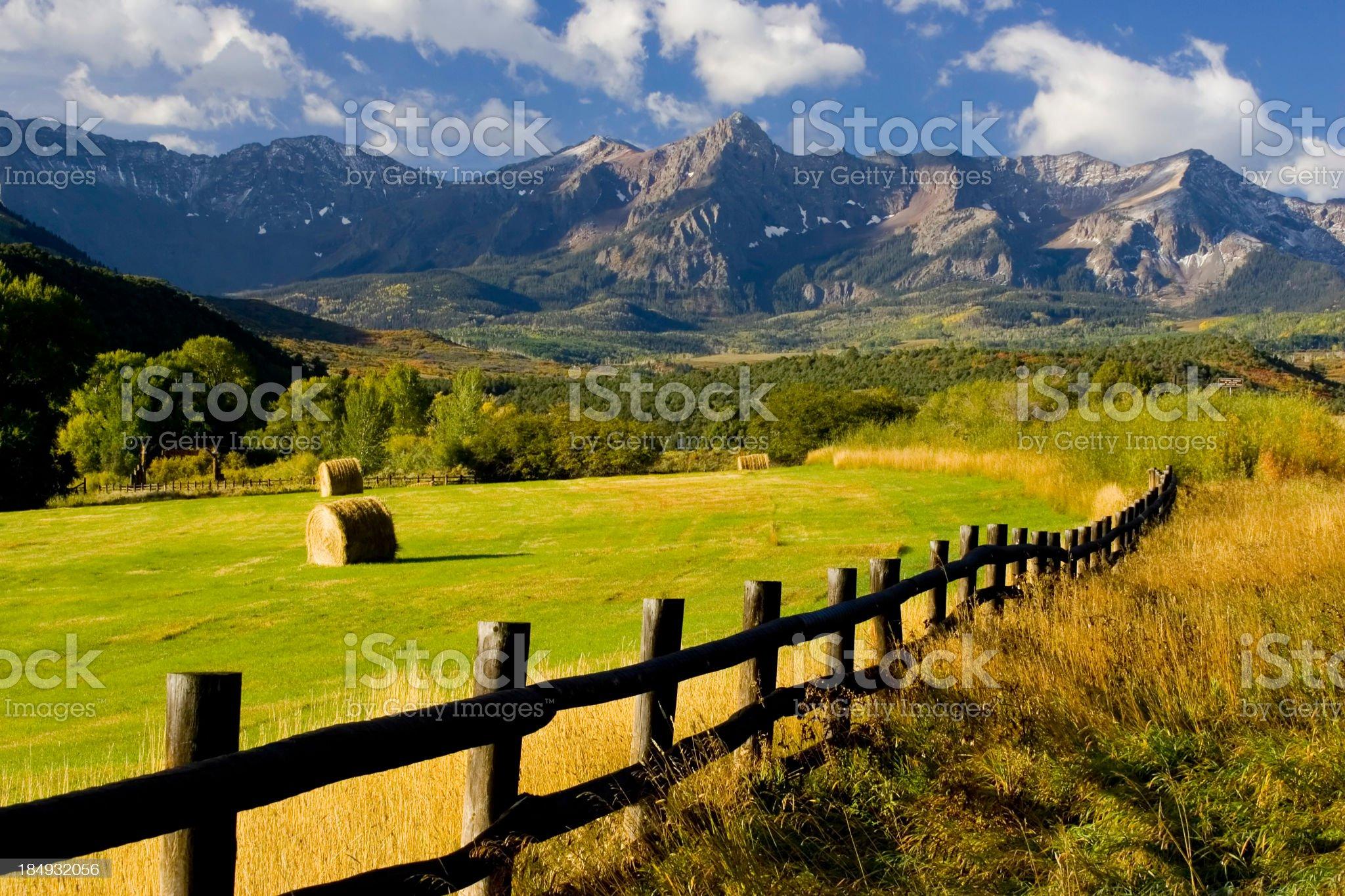 Mt Sneffels Wilderness royalty-free stock photo