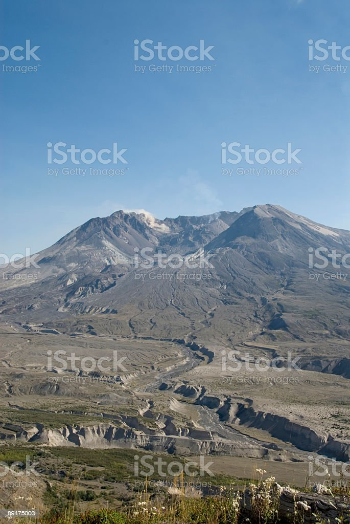 Mt St. Helens royalty-free stock photo