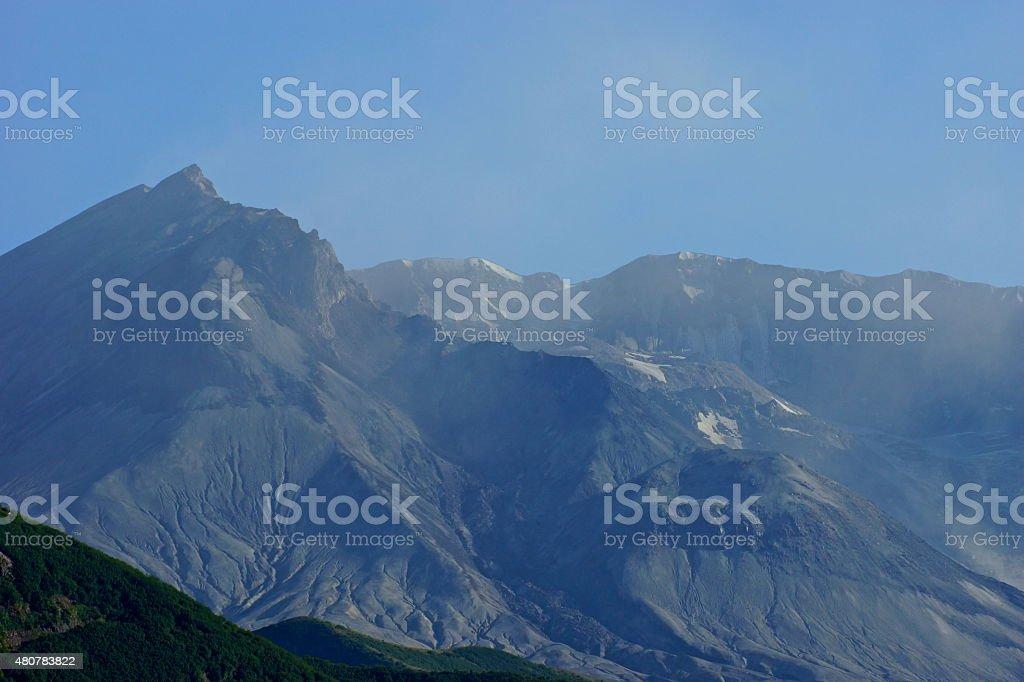 Mt. St. Helens Raw stock photo