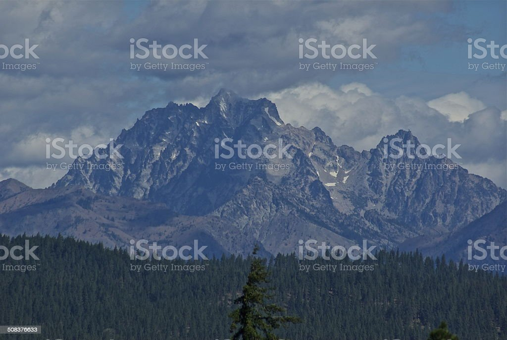 Mt. Stuart stock photo