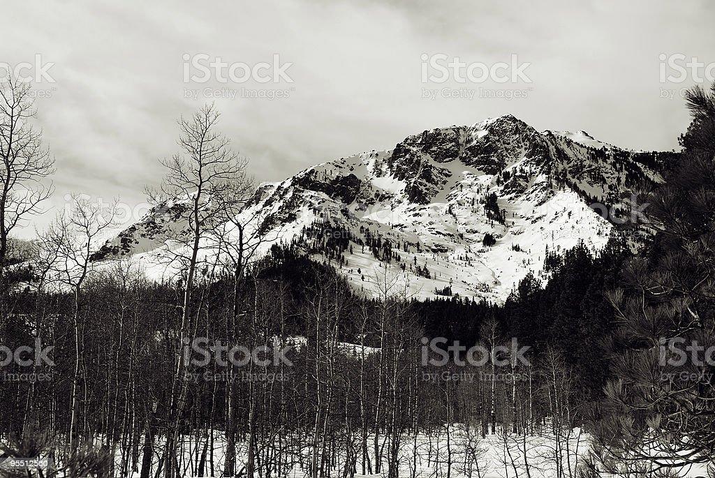 Berg Tallac Lizenzfreies stock-foto
