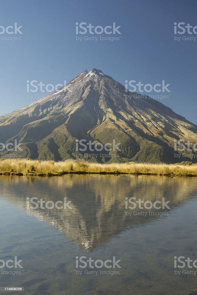 Mt Taranaki (XXXL) stock photo