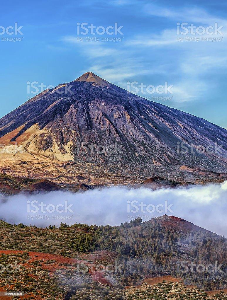 Mt teide stock photo