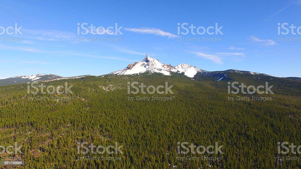 Mt. Thielsen stock photo