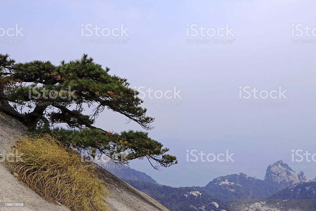 Mt. Tianzhu Landscape stock photo
