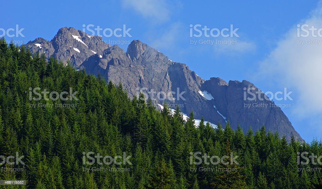 Mt. Washington Summit stock photo