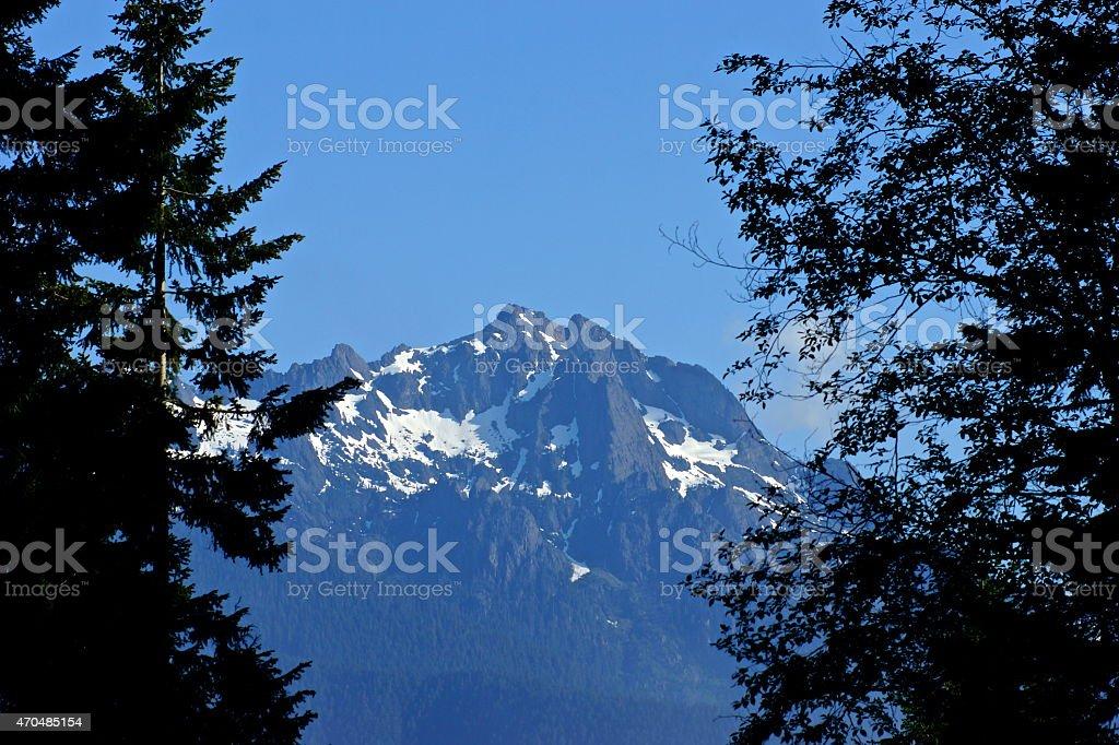 Mt. Washington Window stock photo