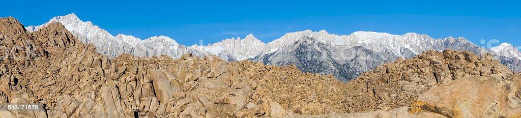 Mt Whitney stock photo