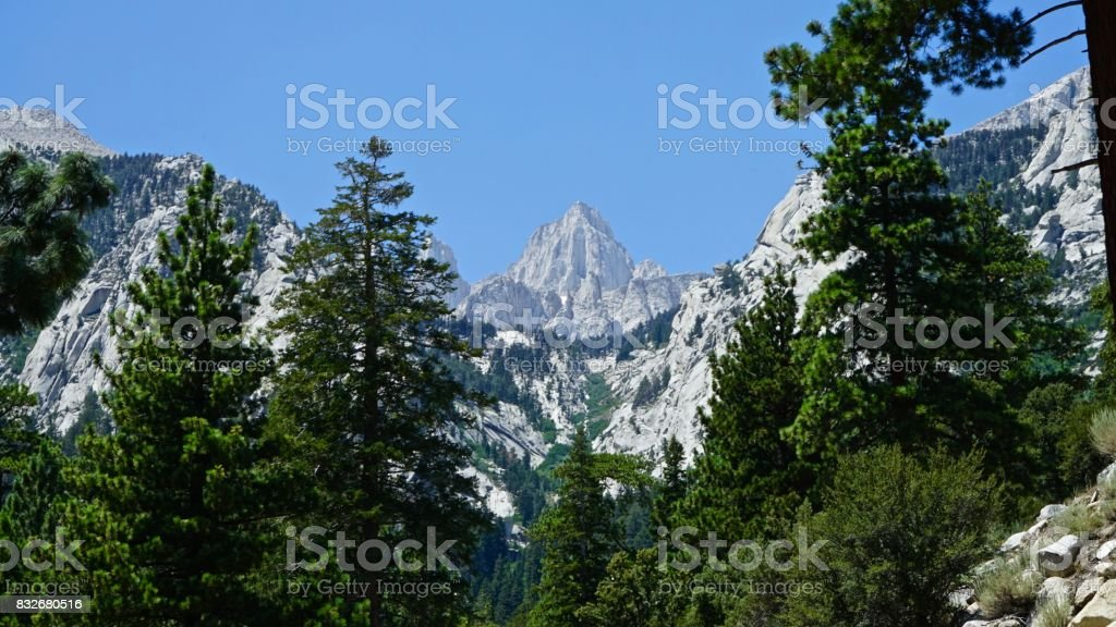 Mt. Whitney Stealth stock photo