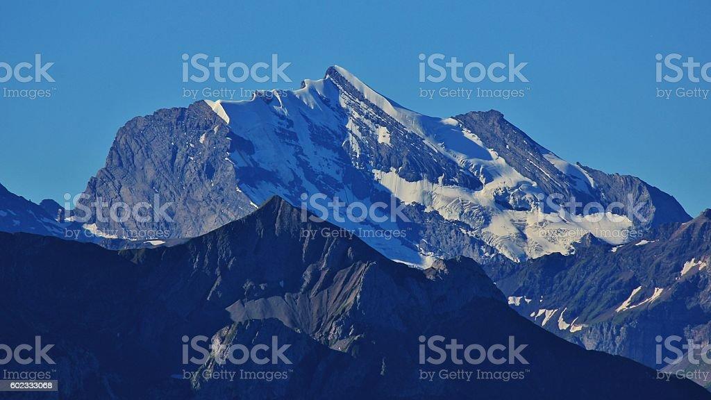 Mt Wildstrubel stock photo