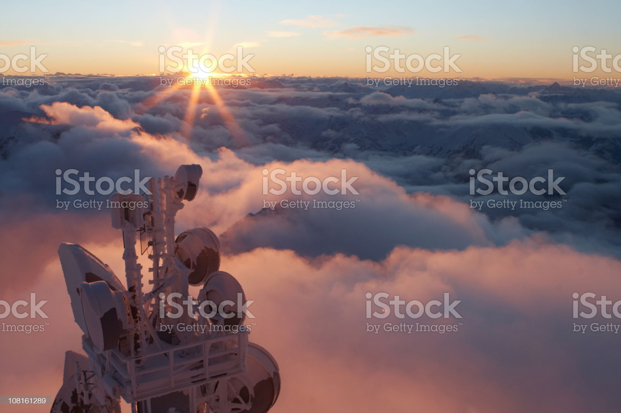 Mt. Zugspitze 1 royalty-free stock photo