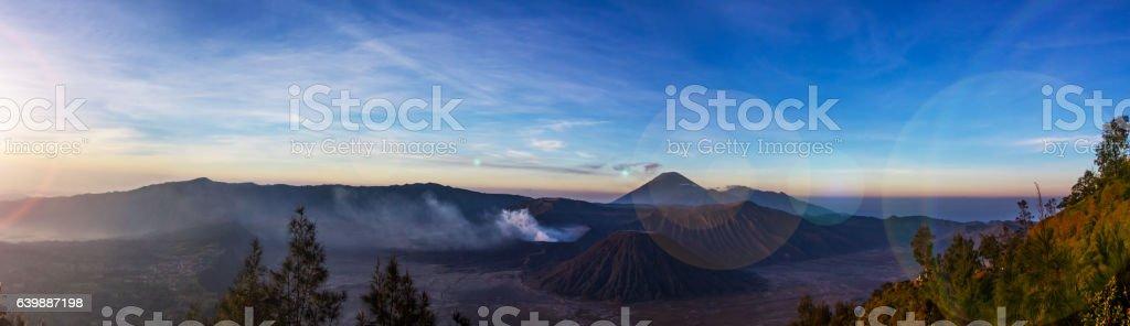 Mt.Bromo stock photo