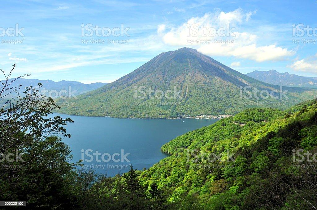 Mt.dantai Japan Nikko stock photo