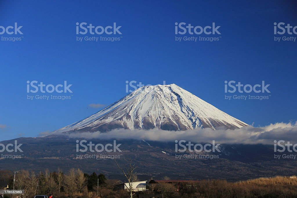 Mt.Fuji royalty-free stock photo