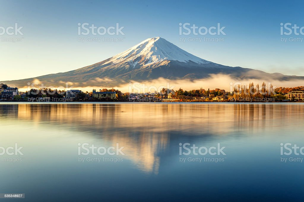 Mt.Fuji stock photo