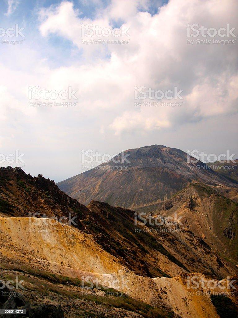 Mt.Nasu Chausu Peak stock photo