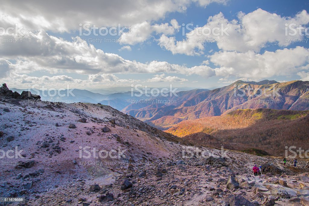 Mt.nasu stock photo