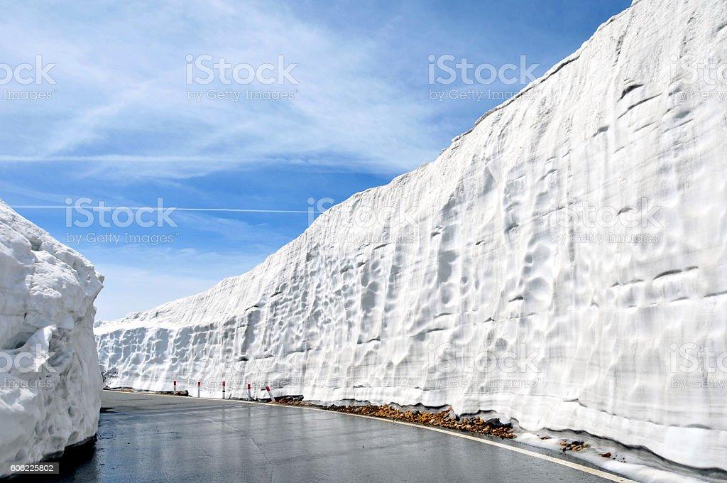 Mt.Norikura Japan stock photo