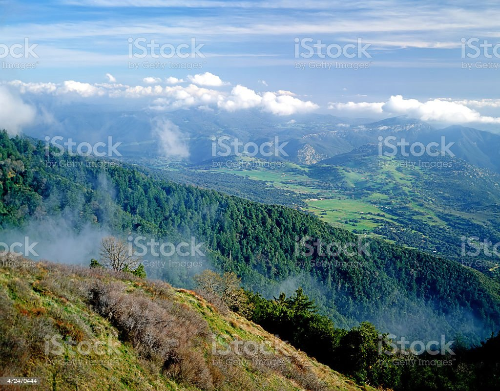 Mt.Palomar stock photo