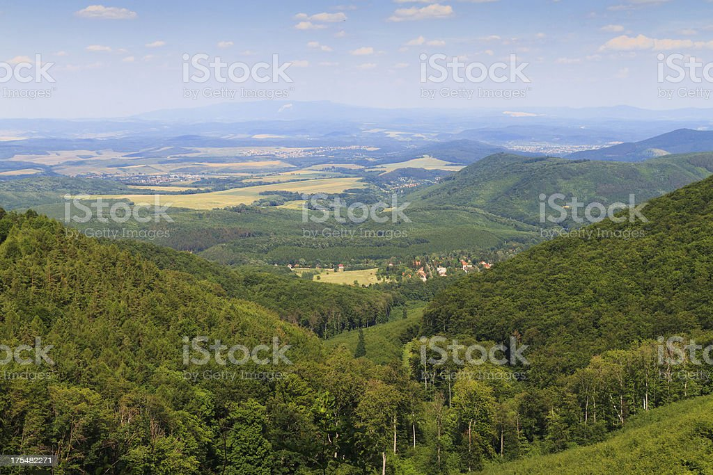 Mátra Mountains, Hungary stock photo