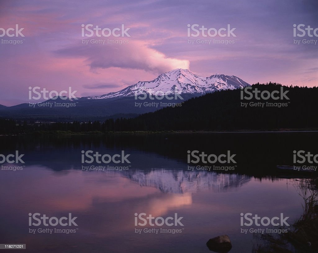 Mt.Shasta stock photo