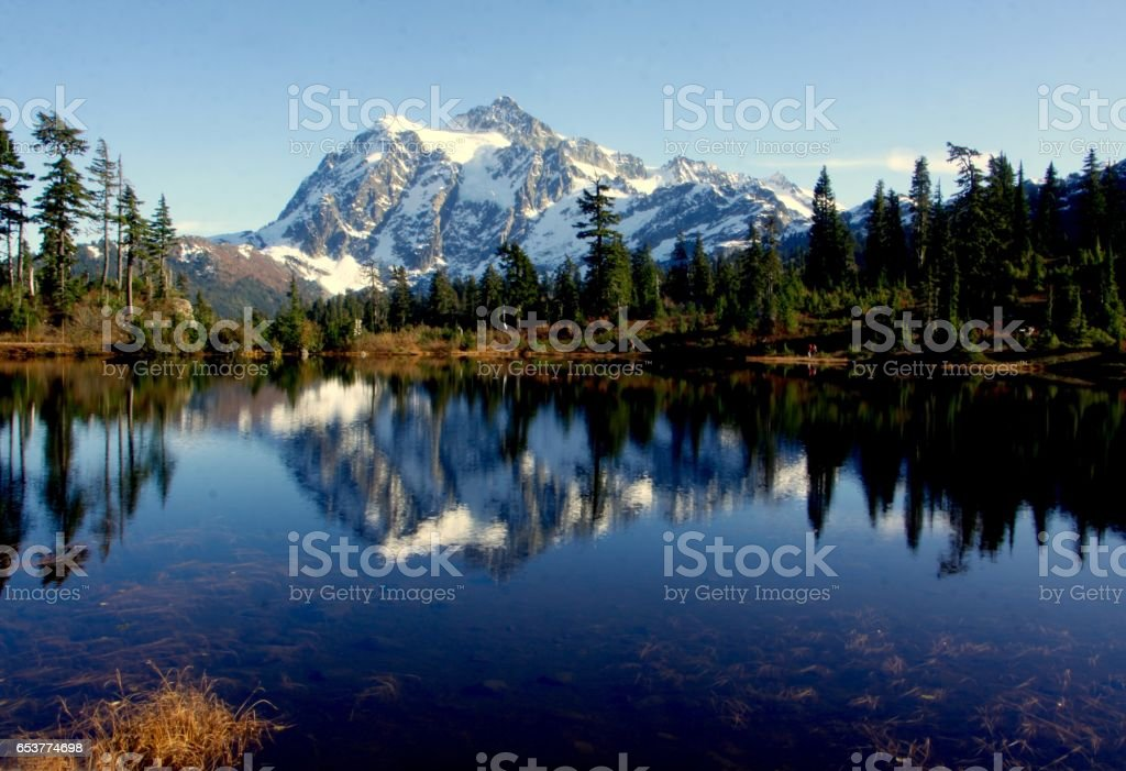 Mt.Shuksan stock photo