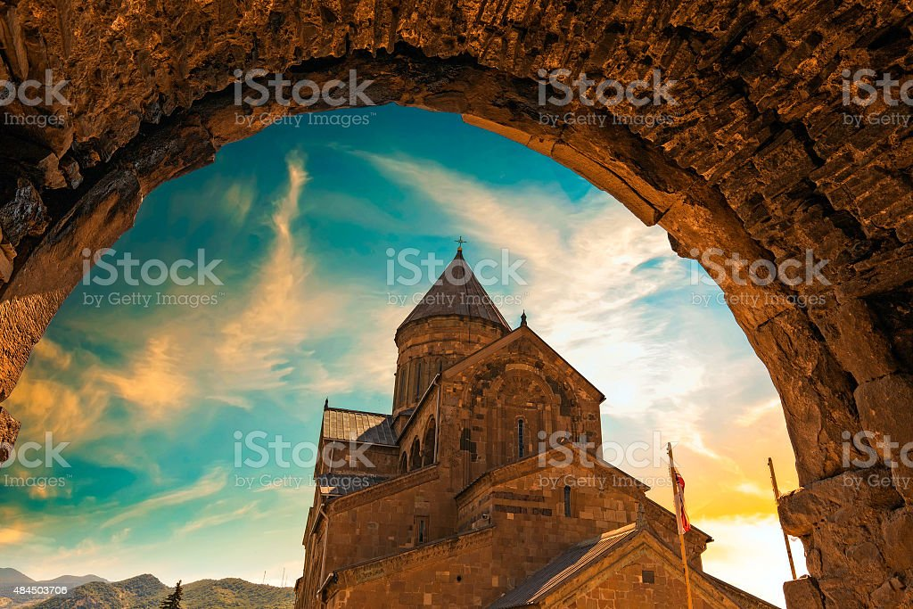 Mtskheta stock photo