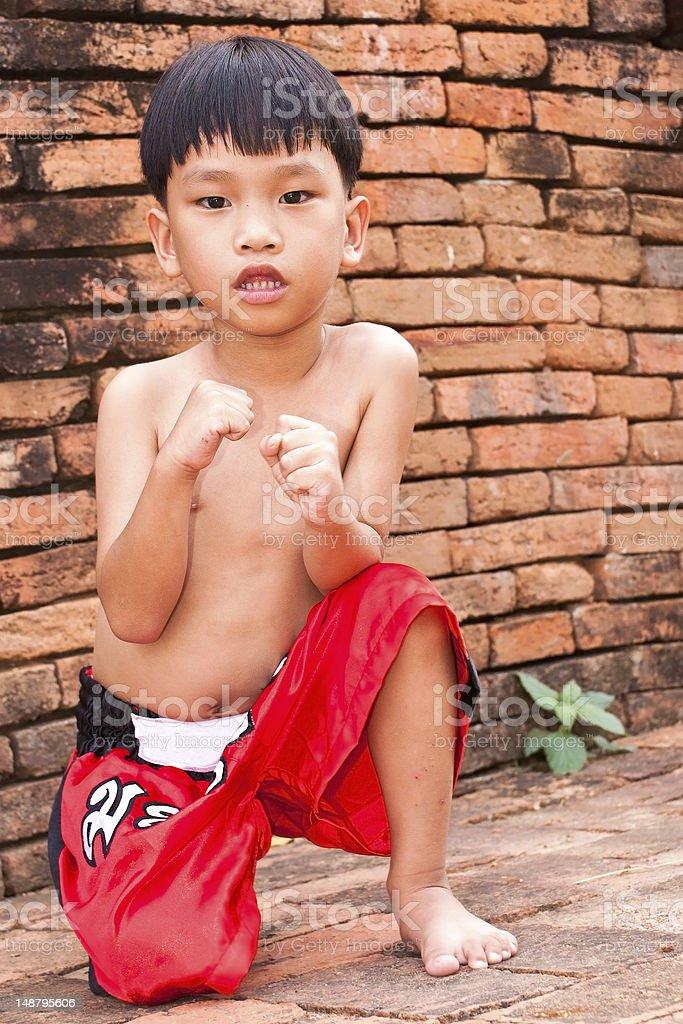 Boks tajski lub Boks zbiór zdjęć royalty-free