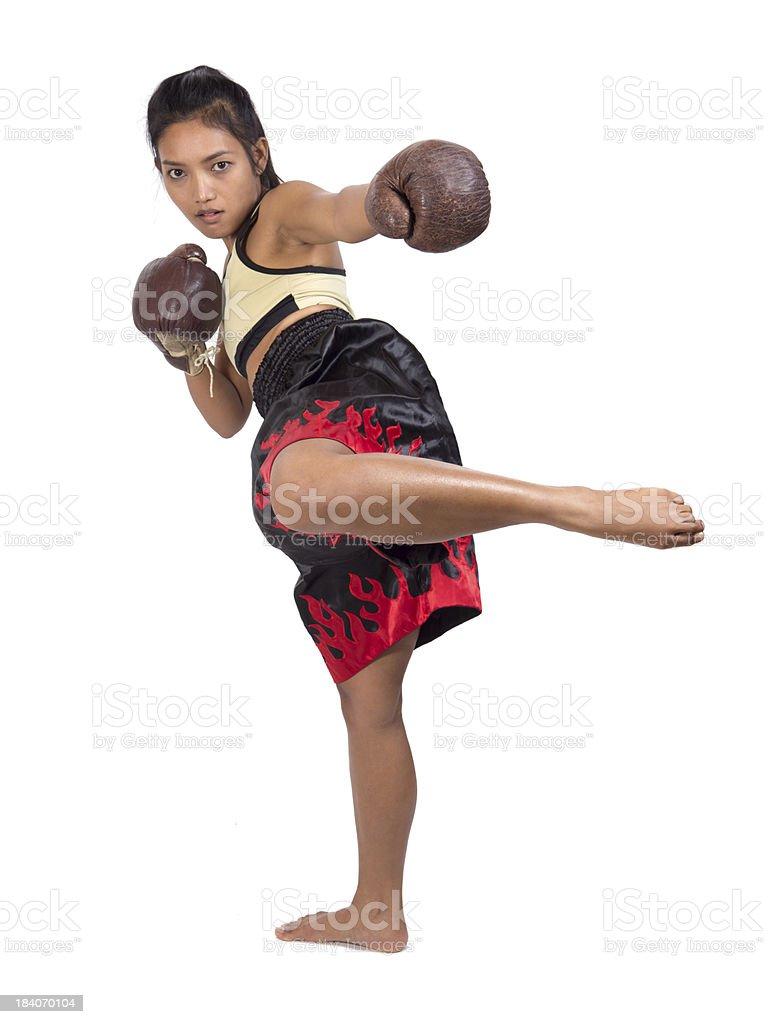Muay Thai stock photo