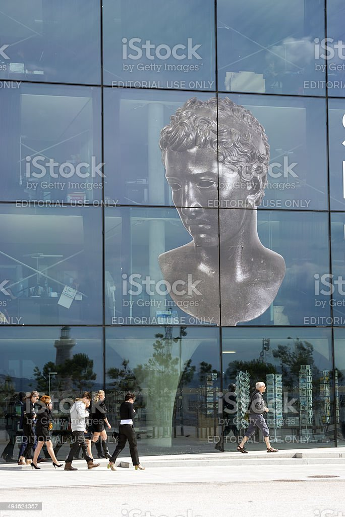 MuCEM in Marseille, France stock photo