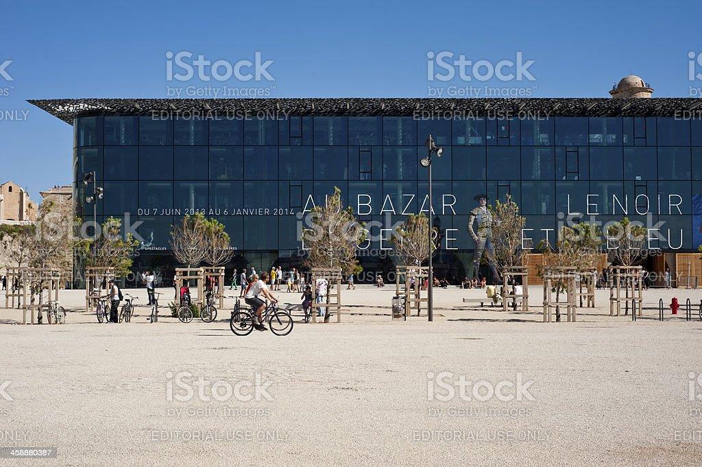 MuCem in Marseille stock photo