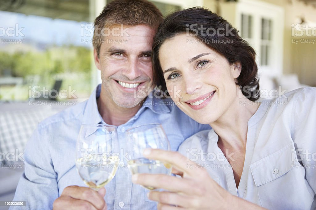 Much to celebrate royalty-free stock photo