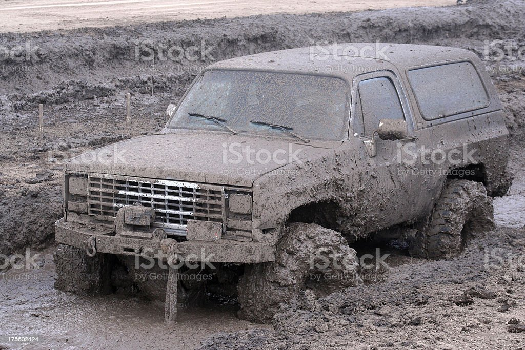 Mud Bogging stock photo