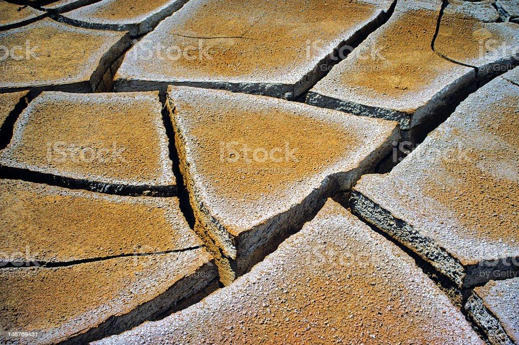 Mud grietas foto de stock libre de derechos