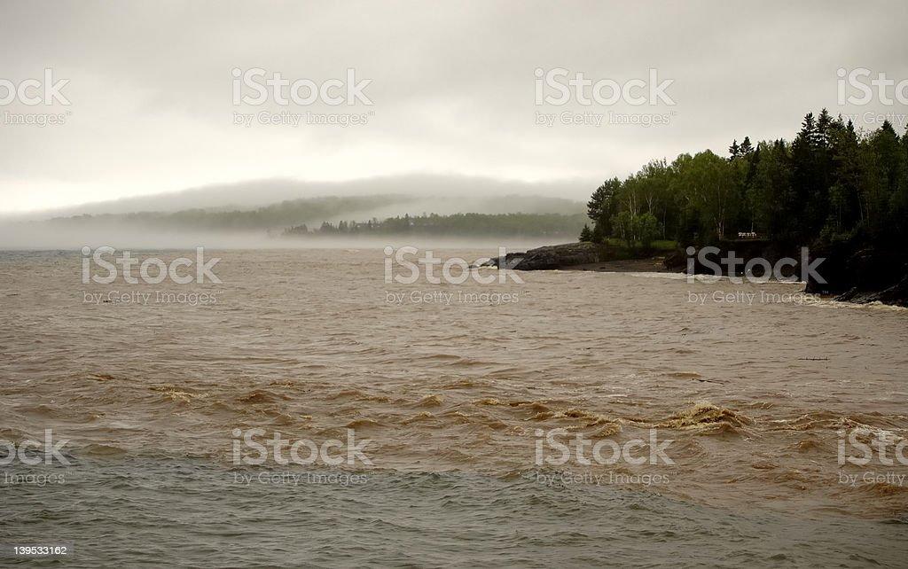 Mud, Flood and Fog royalty-free stock photo