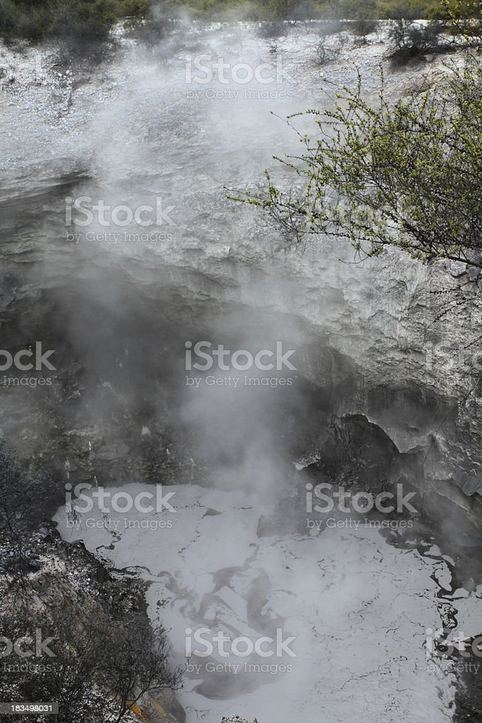 Mud spring royalty-free stock photo