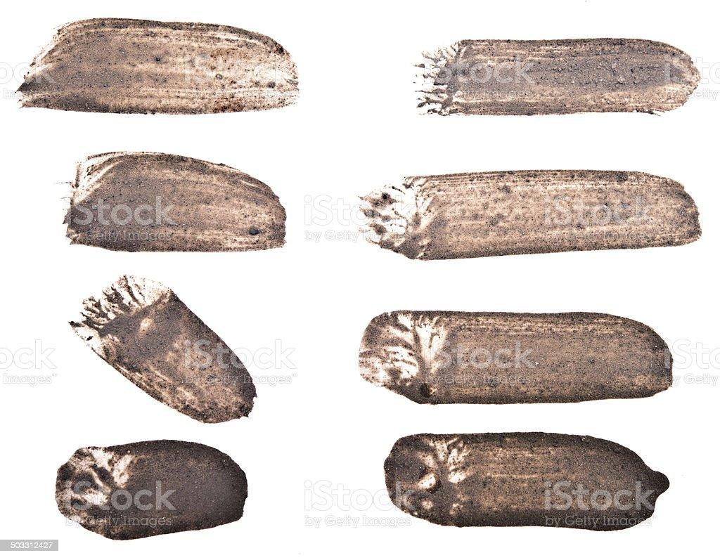 mud strokes royalty-free stock photo