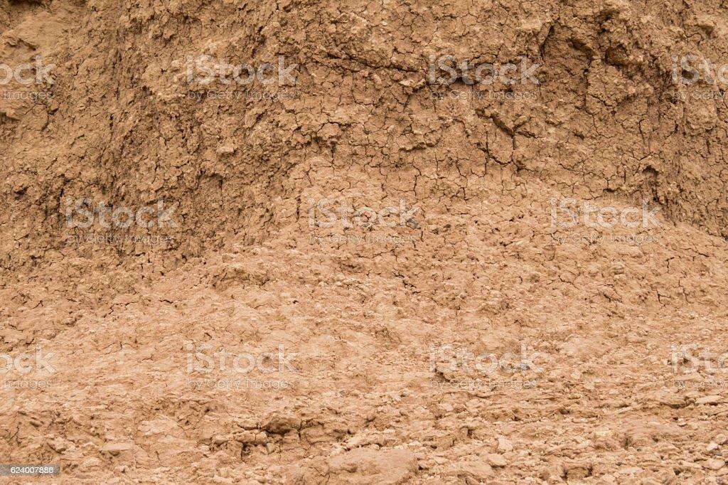 Mud Wall stock photo