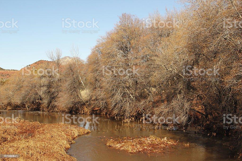 Muddy Creek Arizona royalty-free stock photo