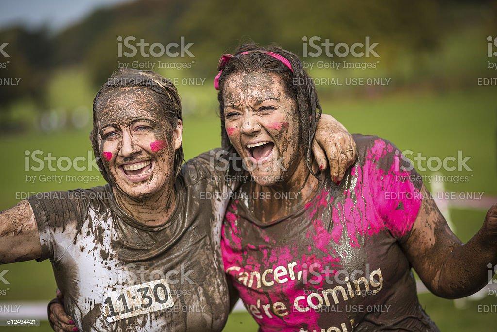 Muddy Fundraising stock photo