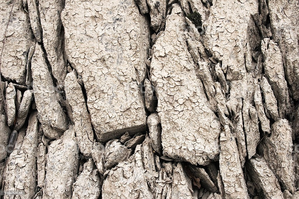 Muddy Stones Texture stock photo