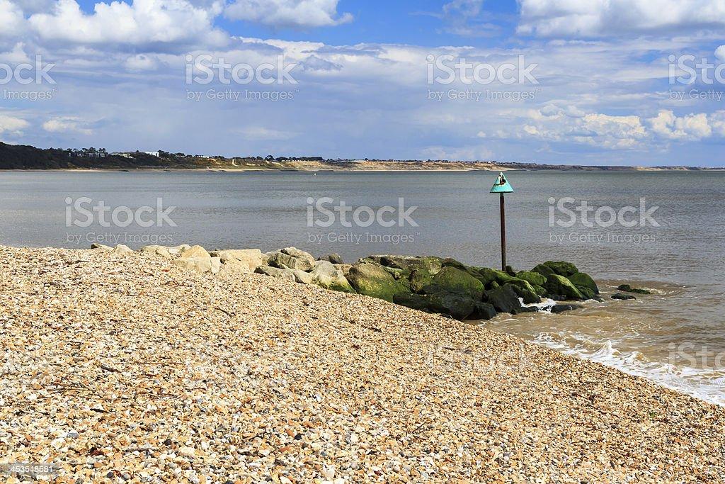 Mudeford Dorset-Angleterre photo libre de droits