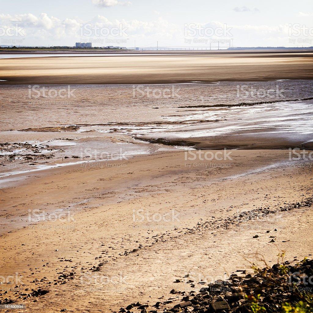 mudflats stock photo