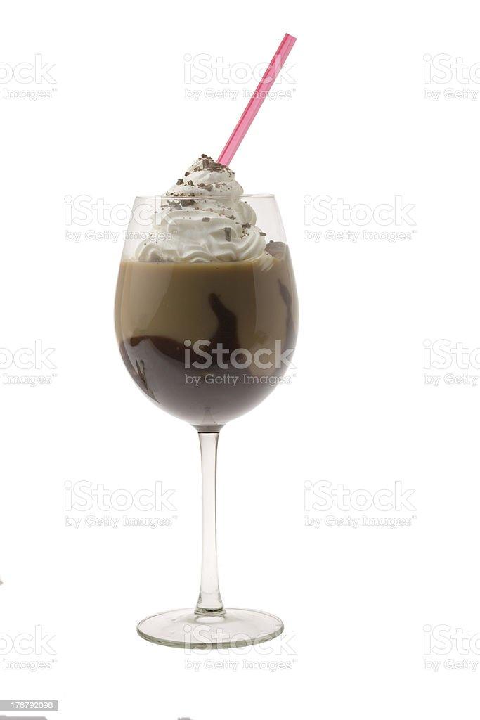 Mudslide Cocktail stock photo