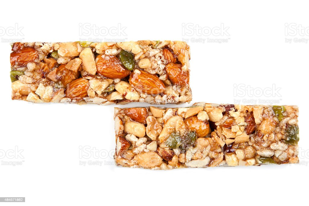 Muesli Bar stock photo