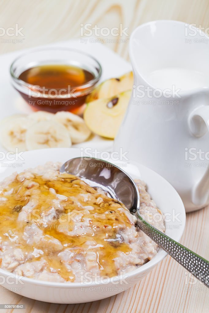 Muesli stock photo